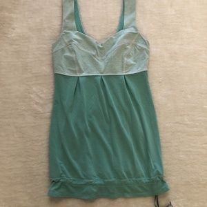 LuluLemon Mint Green Tank Top